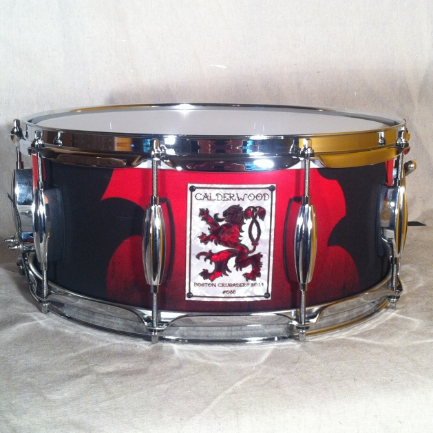 """6""""x14"""" Snare for the Boston Crusaders"""